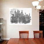 Dining Area with 'Brighton Pavilion Black and White'